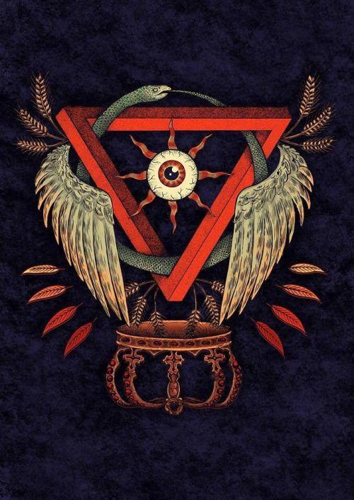 #esoteric #darkart #occultart #occult #illustration #cursed #666 #evil #art…