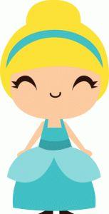 Silhouette Online Store - View Design #49490: cute cinderella princess