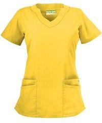 Butter-Soft Scrubs by UA Women's Scallop Neck Top 13