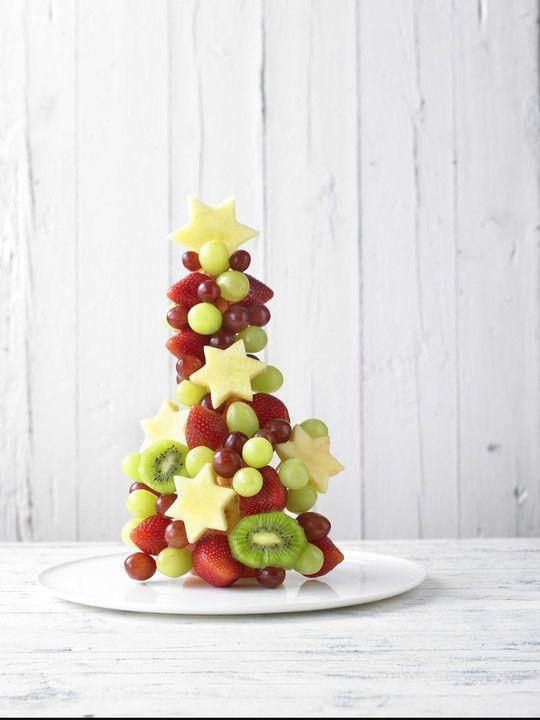 Obst-Weihnachtsbaum