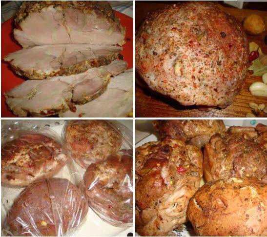 Буженина по-домашнему Для приготовления Вам понадобятся следующие ингредиенты: — свиной окорок – 2-3 кг — оливковое масло – 50 мл — чеснок – 5-6 зубков — соль — лавровый лист — перец чёрный молотый — перец чили — мускатный орех — рукав для запекания Приготовление: Мясо помыть под проточной водой, промокнуть бумажным полотенцем и выложить …