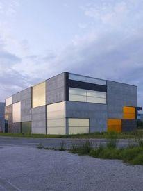 Dezeen » Blog Archive » Office, Store & Shop Concrete Container by OFIS Arhitekti