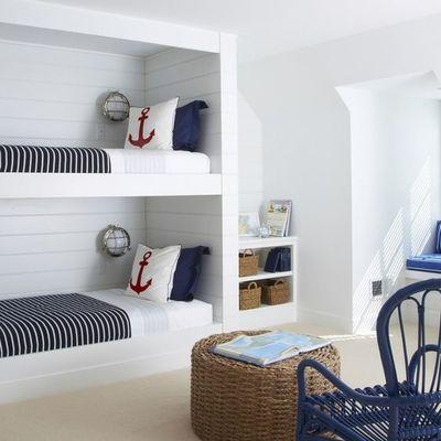 Habitaci n marinera bedrooms dormitorios pinterest for Decoracion casa habitacion
