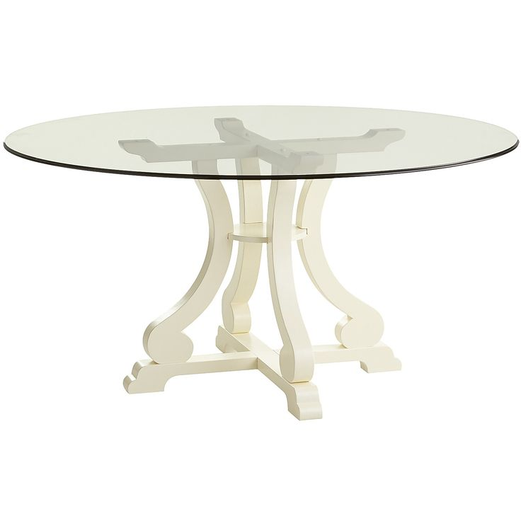 17 best ideas about white round dining table on pinterest for Round table base ideas