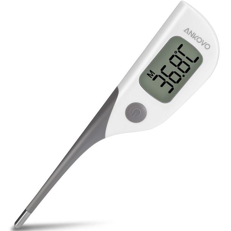 Superisparmio's Post Termometro Digitale  ANKOVO Termometro Digitale con Lettura Rapida 8 Secondi con Punta Flessibile per Misurazione Temperatura Orale Rettale o Ascellare per Bambini Neonati e Adulti con Certificazione FDA e CE  A solo 5.99   http://amzn.to/2k6qovl