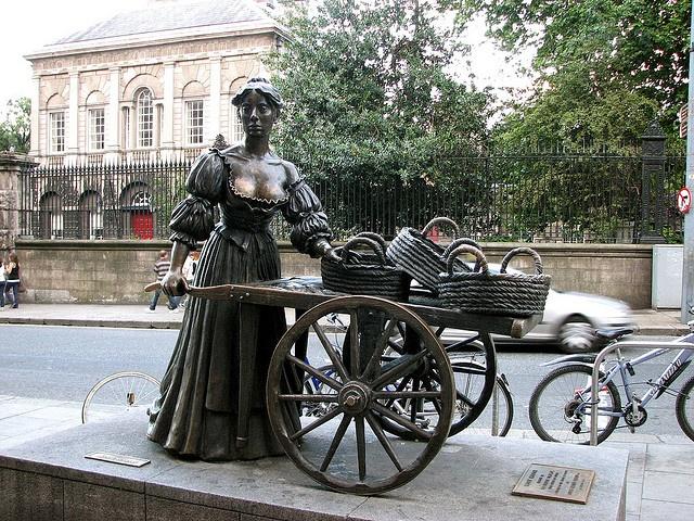 Molly Malone in Dublin