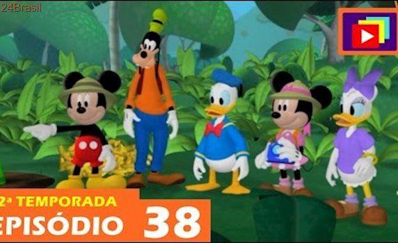 A Casa do Mickey Mouse | O Safari de Mickey e Minnie na Selva