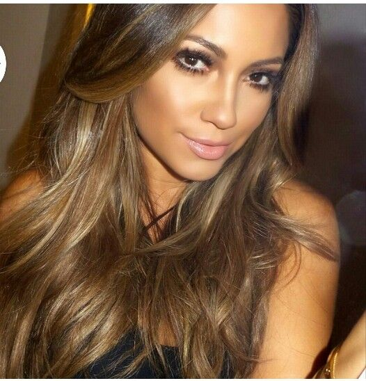 Her hair color is stunning!