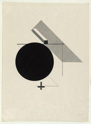 Avion de papier.: El Lissitsky / 1890 - 1941