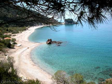 Prefect beach on Samos