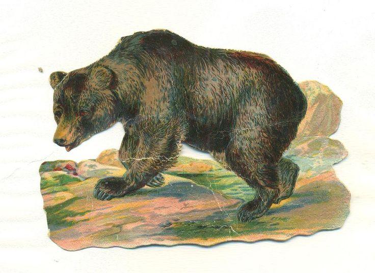 victorian scrap bear
