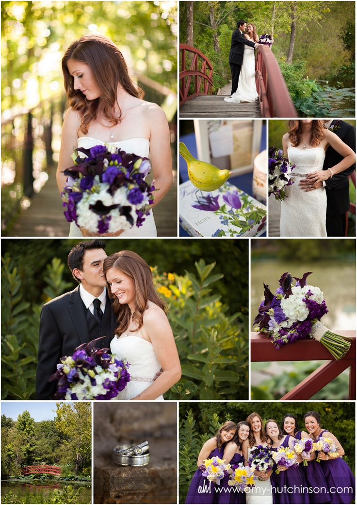 Elegant Purple And White Wedding In Nature Memphis Photography By Amy Hutchinson