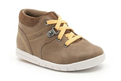 Boys Shoes - Crazy Crew Fst in Brown Leather from Clarks shoes