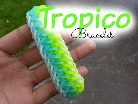 ~ Rainbow Loom Tropico Bracelet ~