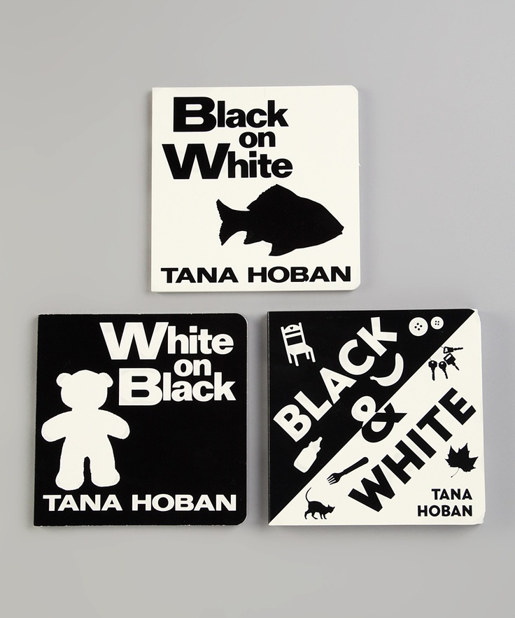White & Black Board Books by Tana Hoban
