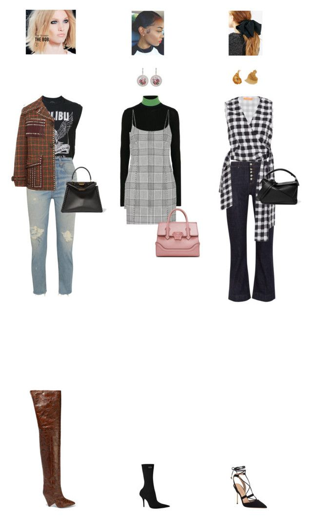 """Sept. 11, 2017"" by chocohearts08 ❤ liked on Polyvore featuring Isabel Marant, Local Authority, RE/DONE, Prada, Calvin Klein 205W39NYC, Alexander Wang, AlexaChung, Balenciaga, Versace and Kurt Geiger"