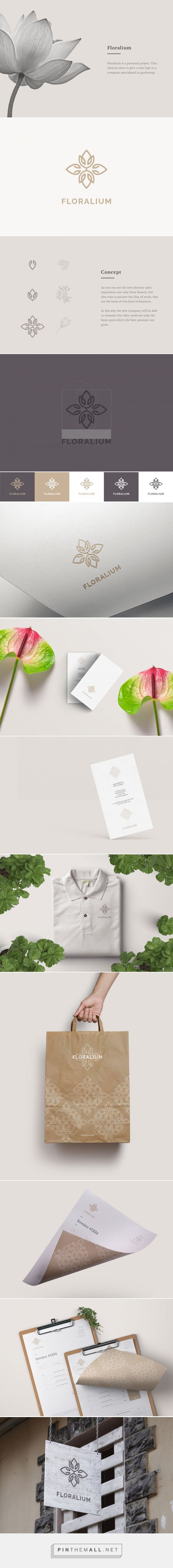 Floralium on Behance... - a grouped images picture - Pin Them All