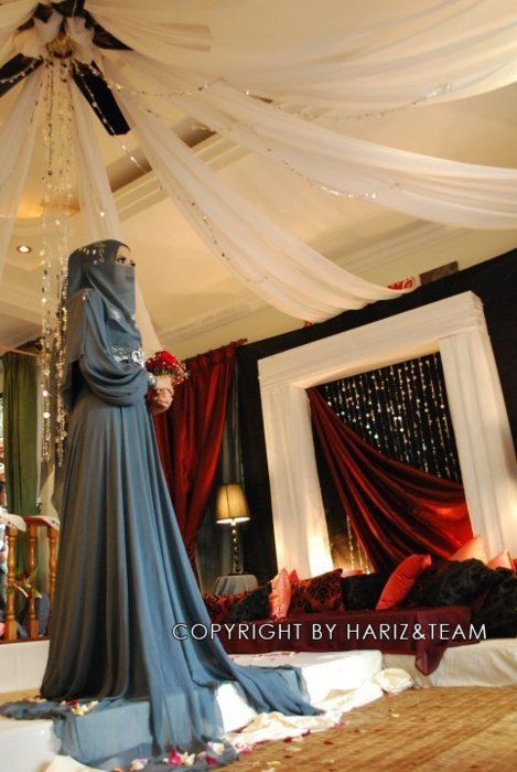 so pretty- niqabi bride