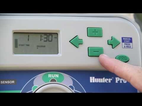 ▶ Hunter PRO-C sprinkler controller - YouTube