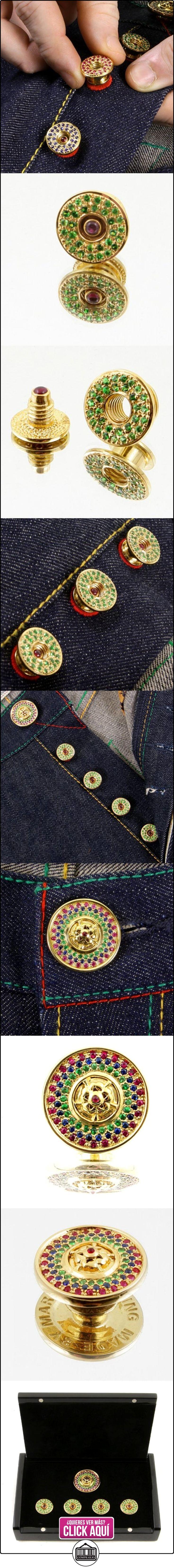 RMC Martin Ksohoh Verde de piedras preciosas granate Custom Made botón, 4unidades, en caja de regalo rmc2380, Green Garnet, talla única  ✿ Joyas para hombres especiales - lujo ✿ ▬► Ver oferta: https://comprar.io/goto/B00HWRDZ06