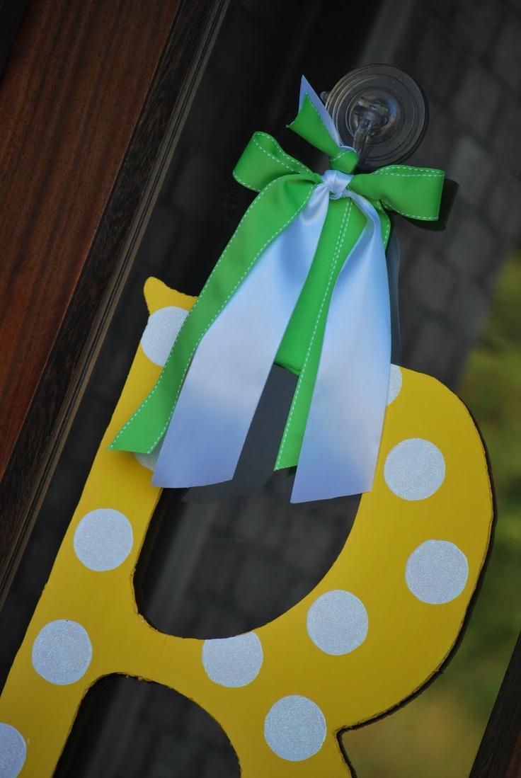 Summer Door Decoration | Amanda Jane Brown