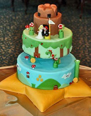 Original Mario Bros Cake.