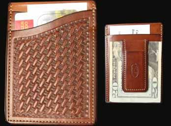 Magnet Money Clip Credit Card Wallet MADE USA Item# 778 - $69.95-SR