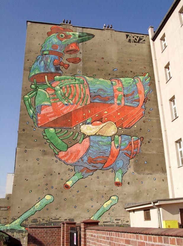 mural - Katowice, Poland  2011