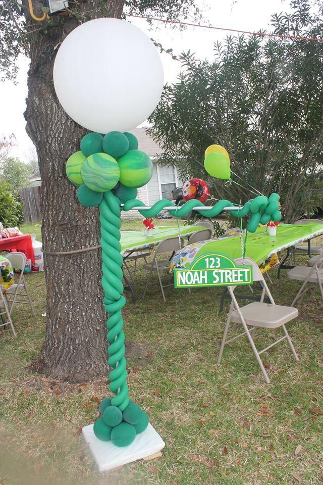 The 9 best images about noahs sesame street themed first birthday sesame street light post aloadofball Images
