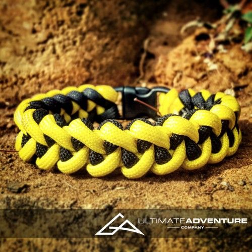 Yellow and Black Jawbone Paracord Survival Bracelet from www.ultimateadventures.co.za  #yellow #black #sharksjawbone #jawbone #bracelet #paracord #paracord550 #paracordsurvival #paracordsurvivalbracelet #survival #paracordporn #outdoorgear #survivalbracelet #survivalparacord #survivaladventure #edc #everydaycarry #adventure #survivalgear #adventuregear #adventurebracelet #ultimateadventure #ultimateadventureco #ultimateadventures #paracordon #cordcraft #craft #outdoorcraft