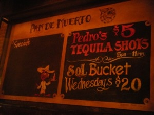 $5 tequila
