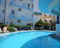 Amoudara Manos Studios Hotel - 14km from airport, taxi should be 15-20 euros