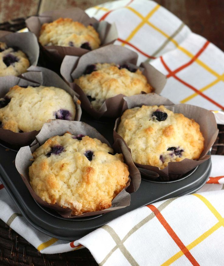 These Whopper Lemon Blueberry Muffins are extra-big so they last all the way through your jumbo mug of coffee or tea.