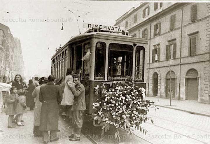 Foto storiche di Roma - Via Tiburtina Anno: 1941