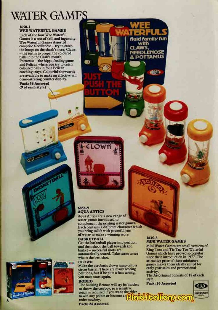 Tomy's Wee Waterfuls. Loved these things.