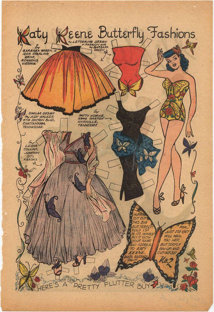 Katy Keene Butterfly Fashions