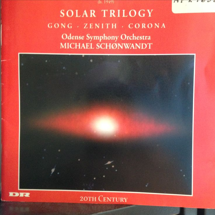 Solar Trilogy. Poul Ruders. Odense S.O.  Michael Schønwandt. Marco Polo  1997
