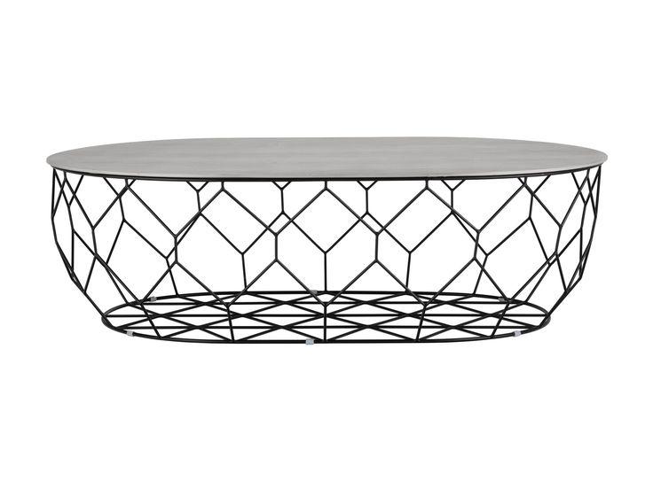 Inspirert av den naturlige formen til en vokskake har dette bordet den samme styrken og lettheten som en bikube. Stålrammen gjør at du kan oppbevare det du vil på innsiden, og den avtakbare bordplaten er stor nok til å være vert for et koselig teselskap – med eller uten honning.
