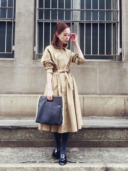 かぐれのワンピース「かぐれ タイプライターシャツワンピース」を使ったはれこ(WEB事業部)のコーディネートです。WEARはモデル・俳優・ショップスタッフなどの着こなしをチェックできるファッションコーディネートサイトです。