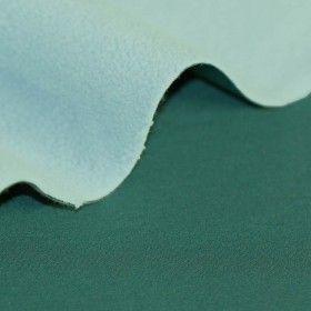 Softshell Stoff Petrol Mint