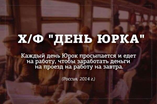 День юрка... И не только в России...