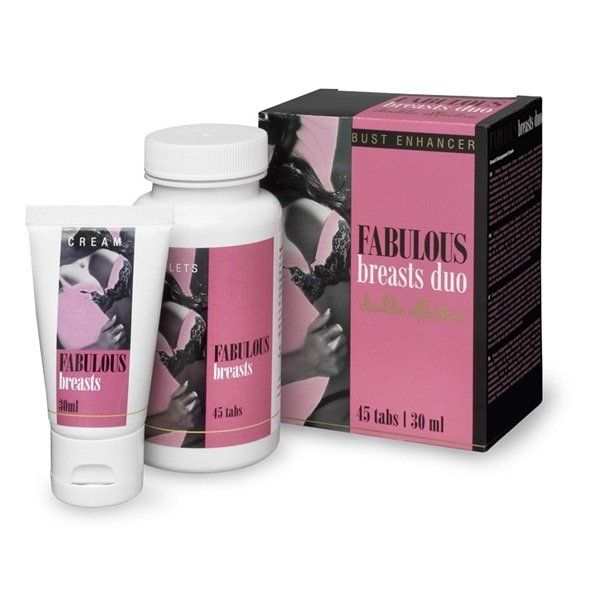 Breast Enlargement Cream helps to reinforces your breasts in a natural way.The unique Breast Enlargement Tabs will help to firm your breasts in a natural way.30 ml and 45 tabs
