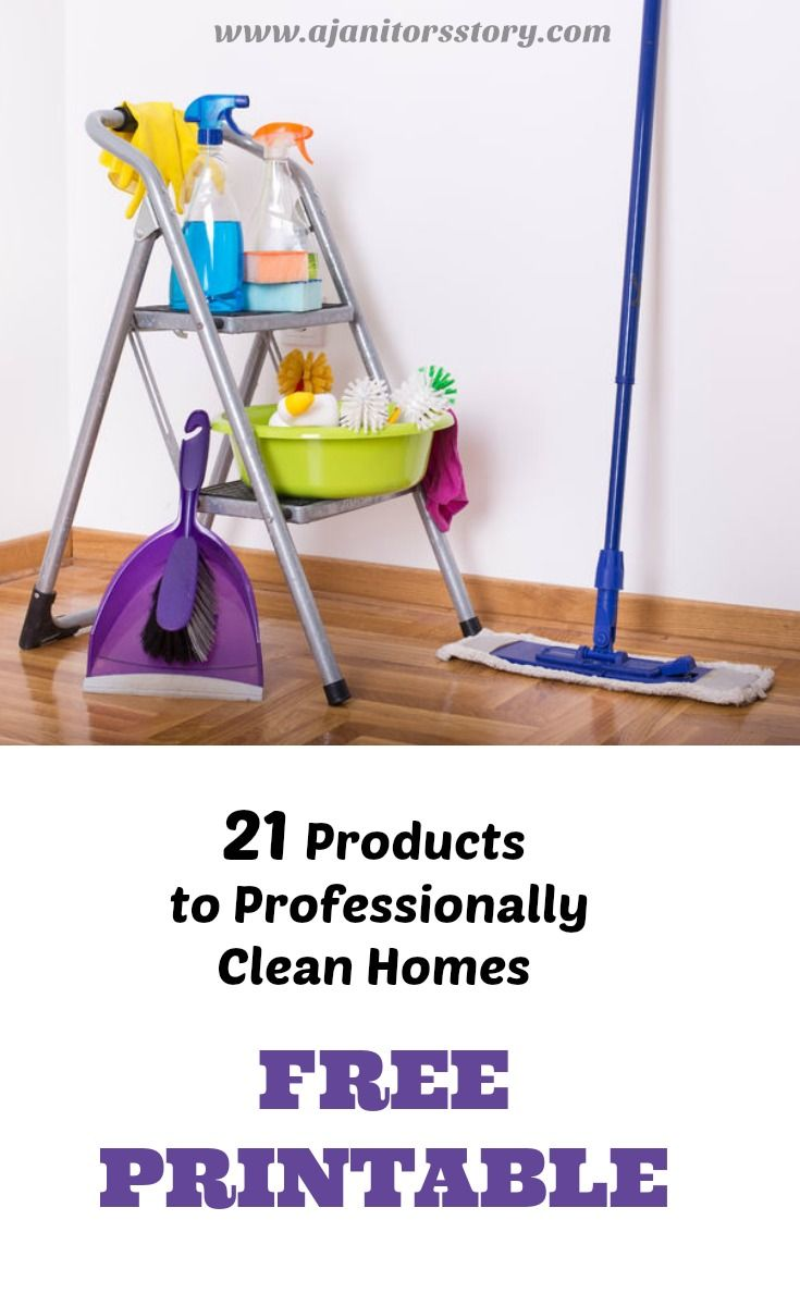 Recommended professional cleaning products for house cleaning. Number 13 is fantastic, but be cautious. #ajanitorsstory #cleaningproducts #businesstips