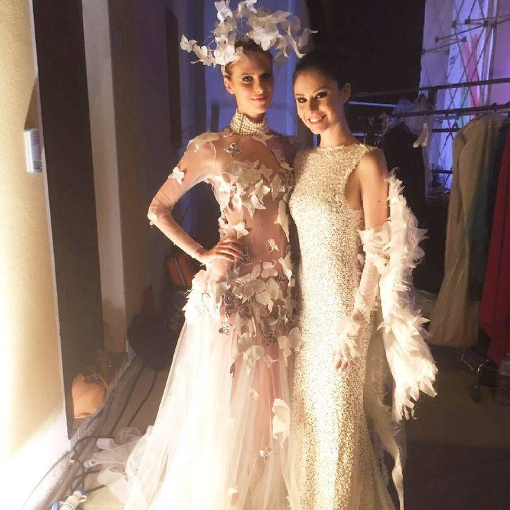 #fashion#backstage#sardinia#butterfly#white#model#picoftheday#chic#moda#handmade#madeinitaly#couture#instafashion#laboratoriostilistico#