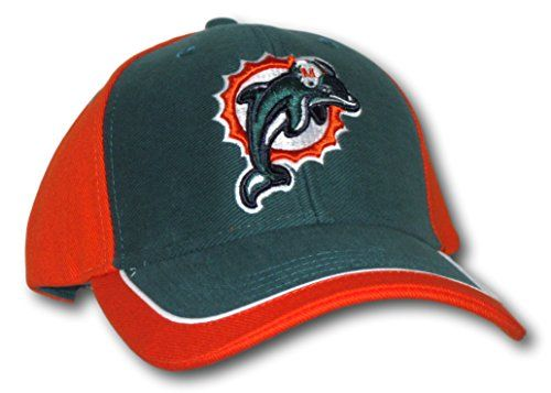Miami Dolphins NFL Team Apparel Two Tone Hat  http://allstarsportsfan.com/product/miami-dolphins-nfl-team-apparel-two-tone-hat/  Adjustable One Size Fits All Embroidered Logo