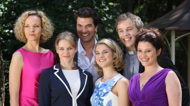 Sturm der liebe, Natascha, Constantijn, Marlene, Kira,
