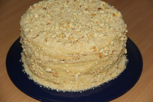 Торт со сгущенкой на сковородке   Наша кухня - рецепты на любой вкус!