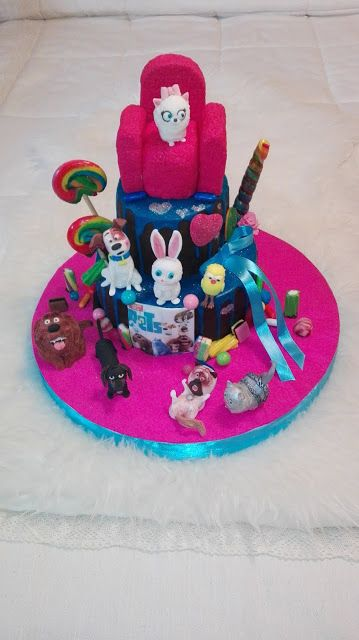 LAS DULCES TARTAS DE GLORIA: Cake Mascotas