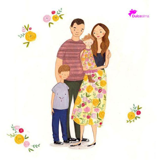 Una buena familia, comienza con un buen ejemplo de los padres. #DulceAlma #FelizSábado