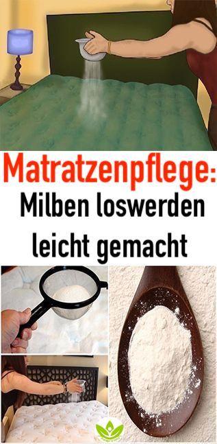 Matratzenpflege: Milben loswerden leicht gemacht